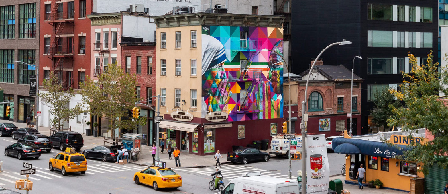 Kobra Street Art New York City