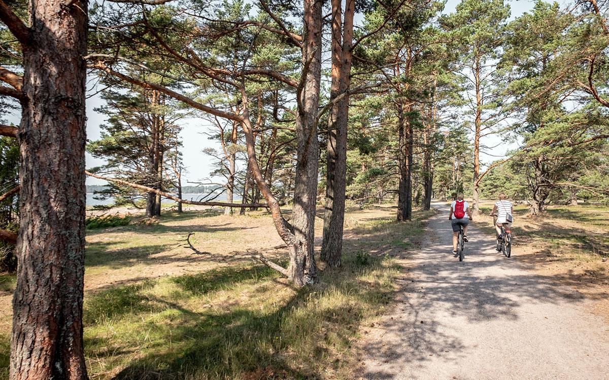 Hanko Fahrrad fahren