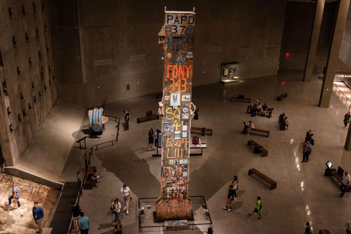 Stahlträger 9/11 Museum Memorial