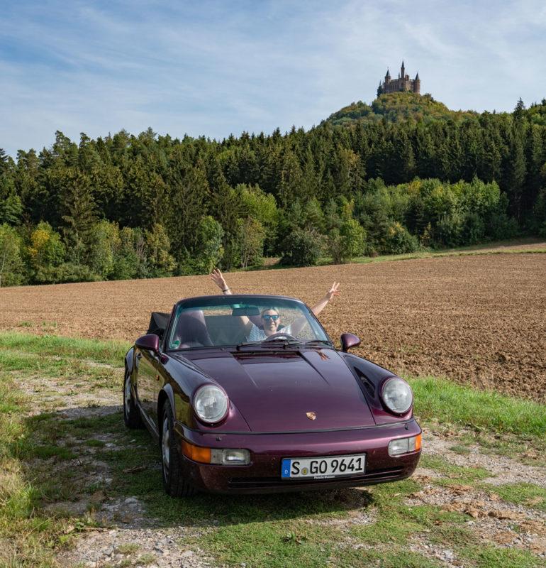 Burg Hohenzollern Porsche Roadtrip