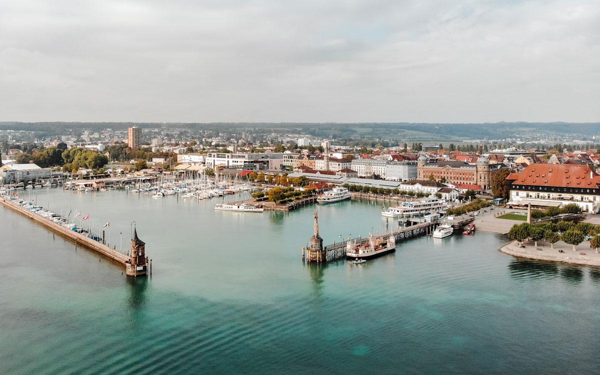 Konstanz Hafen Bodensee