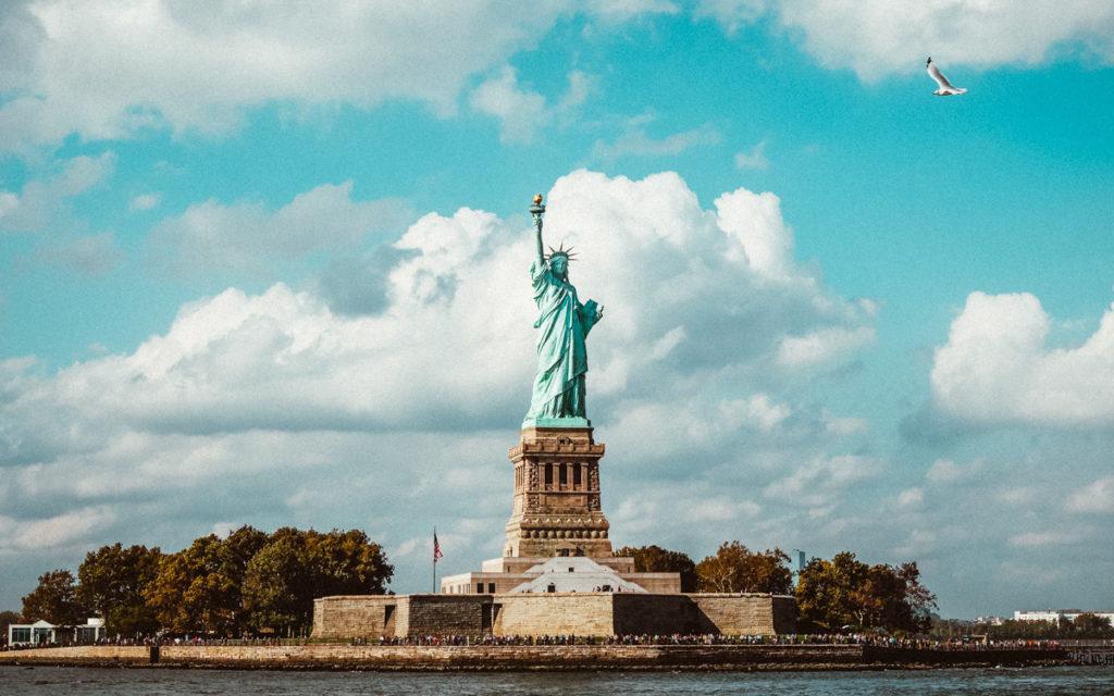 Sehenswürdigkeiten New York: Freiheitsstatue