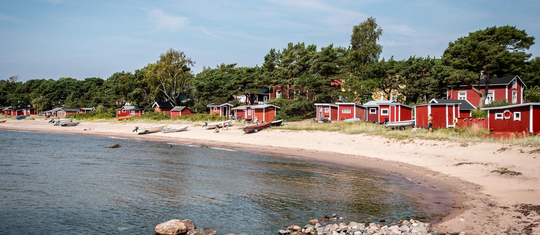 Fischerhäusschen Finnland Hanko