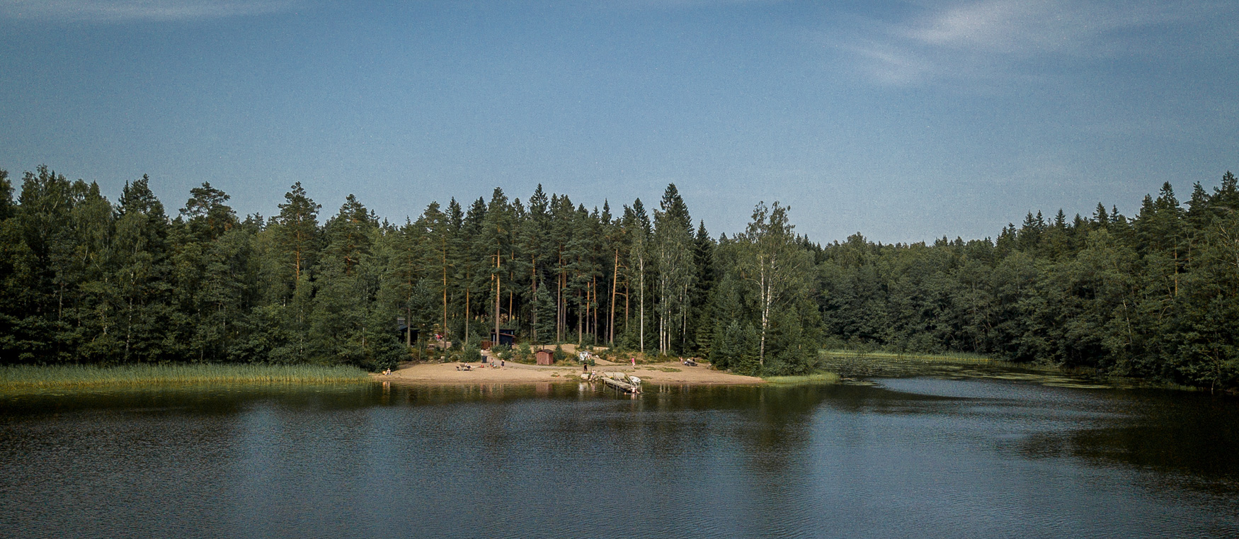 Raseborg Finnland See