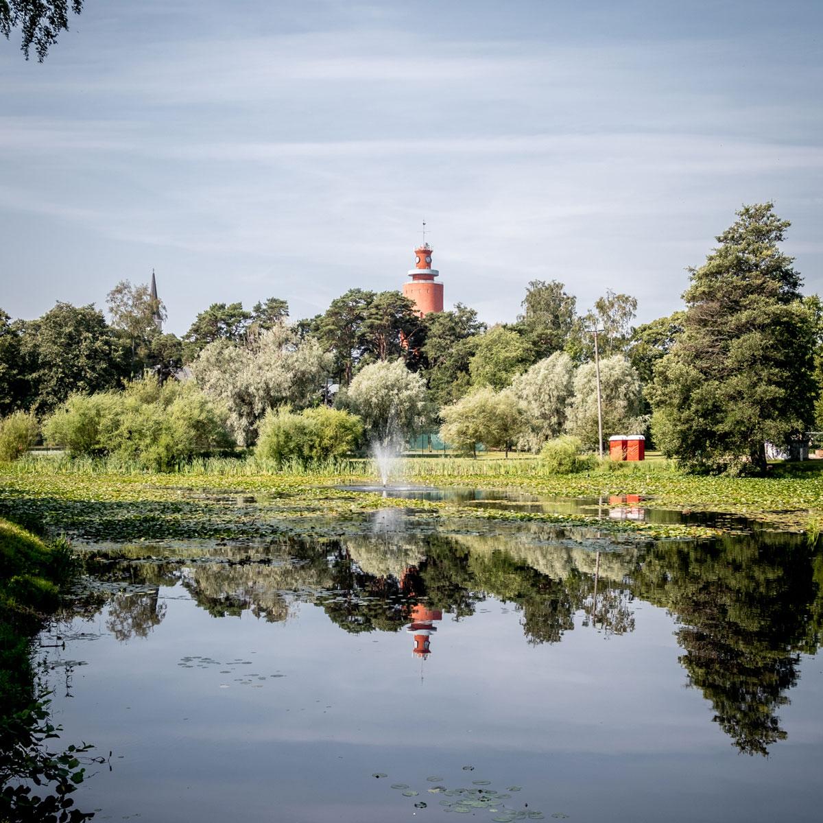 Wasserturm in Hanko