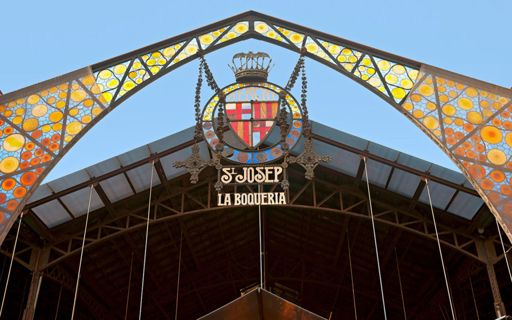 Mercat de la Boqueria Markthalle Barcelona