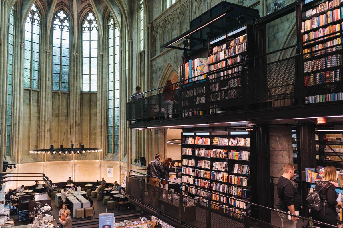 Boekhandel Dominicanen in Maastricht, tolle Buchhandlung