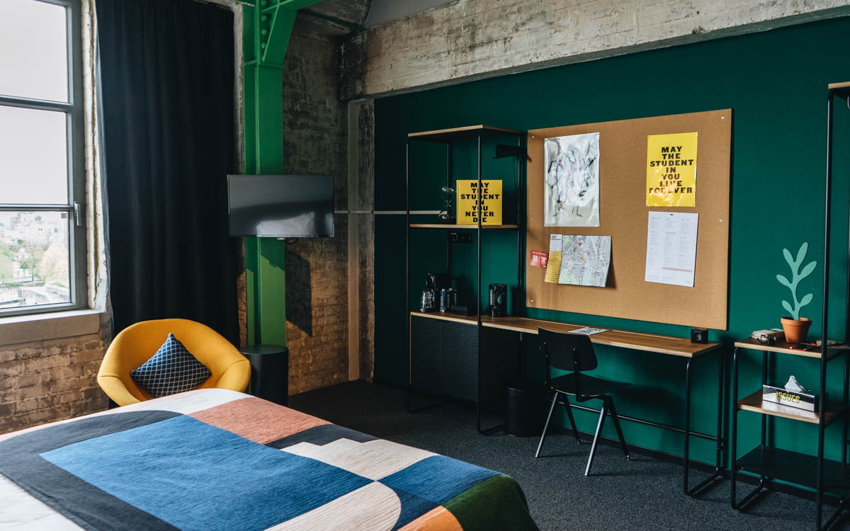 Einrichtung im The Student Hotel Maastricht