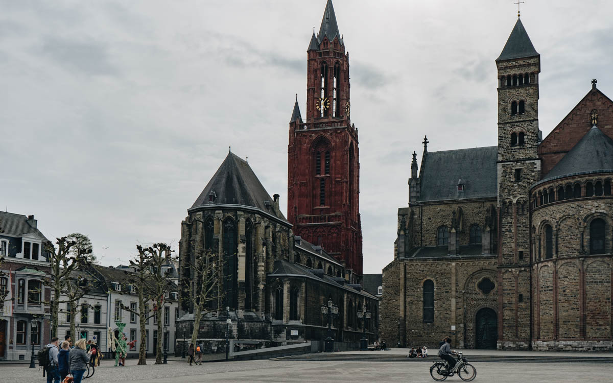 Vrijthof in Maastricht.