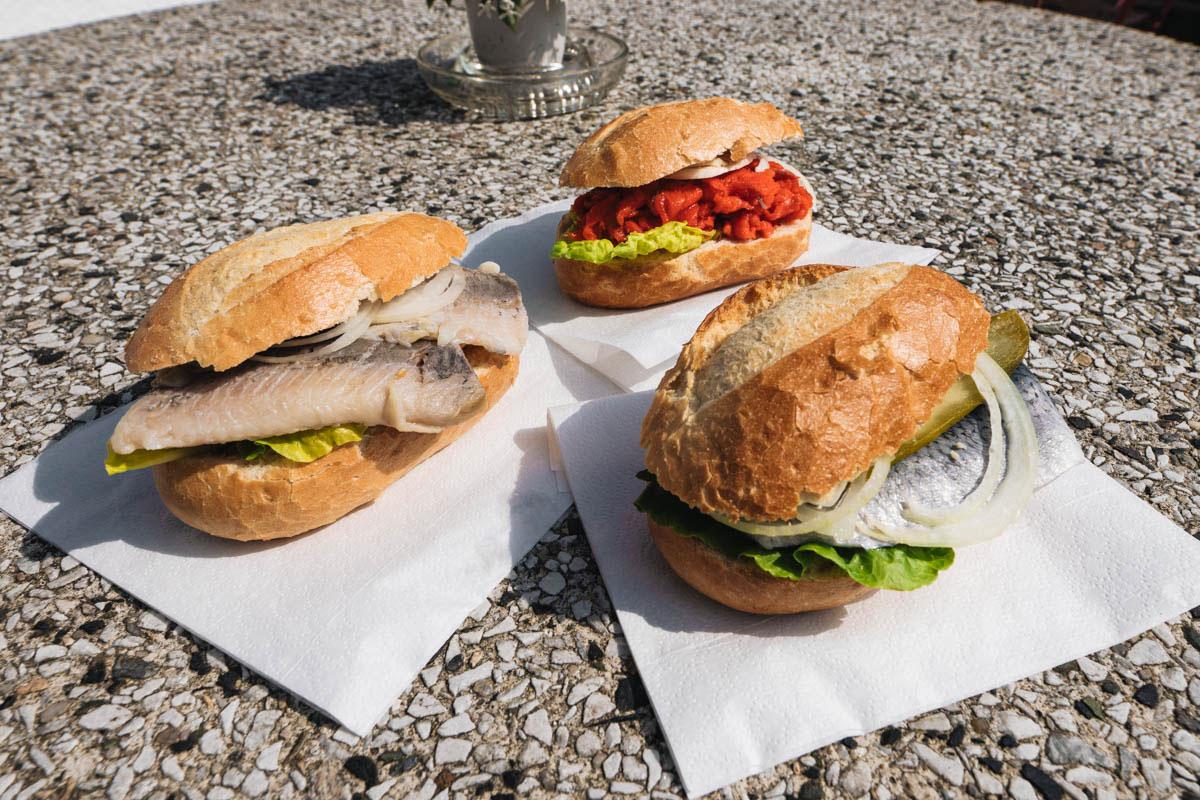 Fischbrötchen essen Usedom Highlight