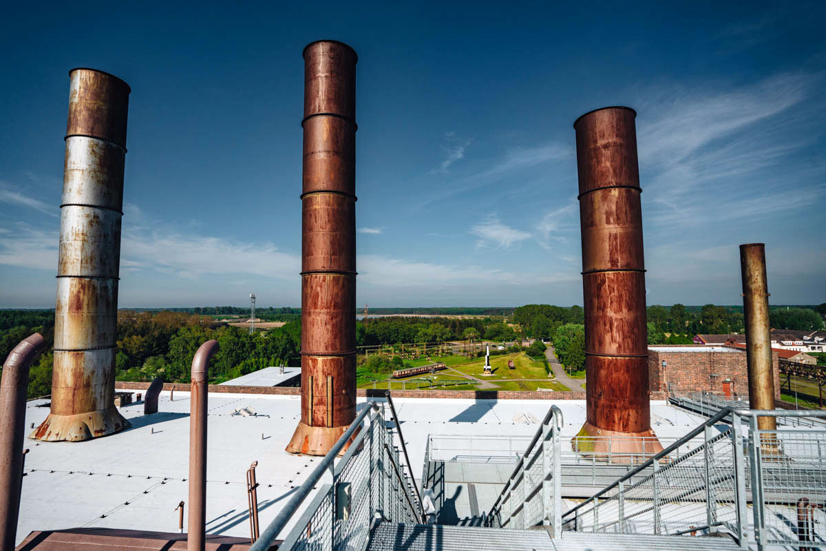 Ausblick Dach Historisch Technischen Museum Peenemünde