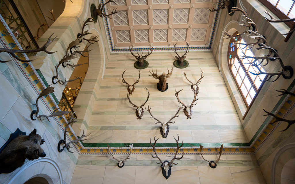 Eingangsbereich Jagdschloss Granitz