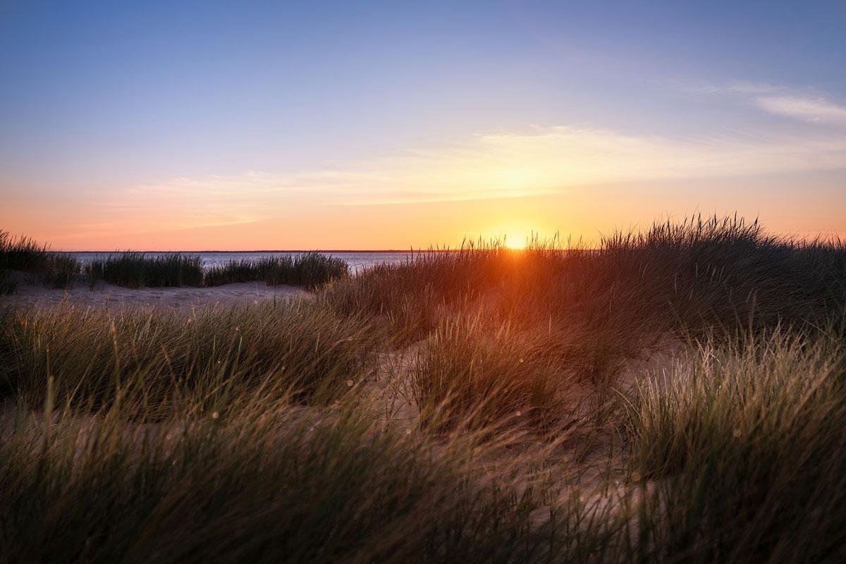 Sonnenaufgang am Ellenbogen Sylt