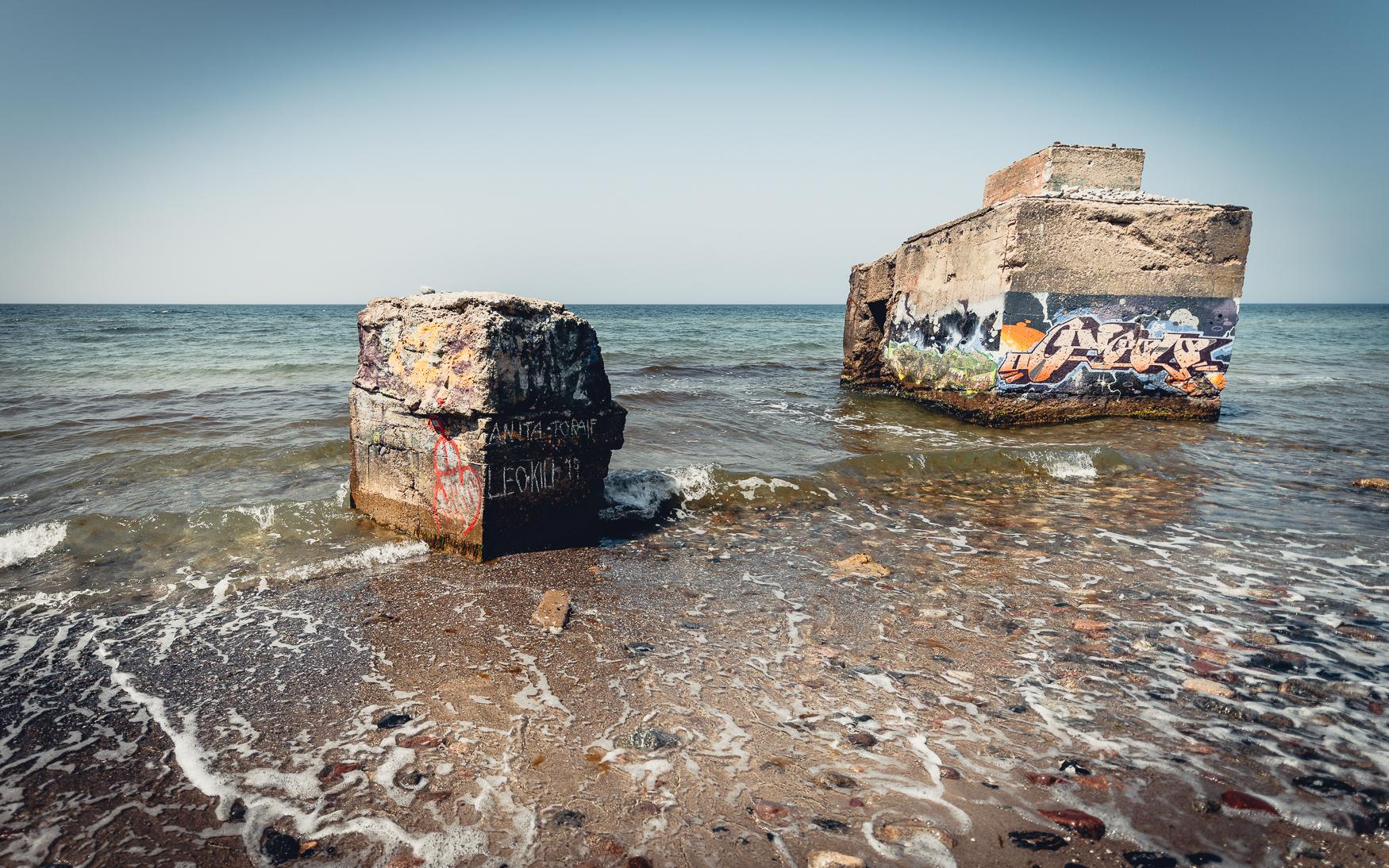 DDR Bunker Ruinen
