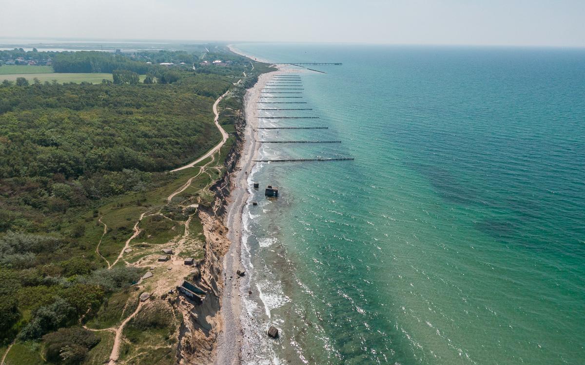 Steilküste Fischland-Darß-Zingst