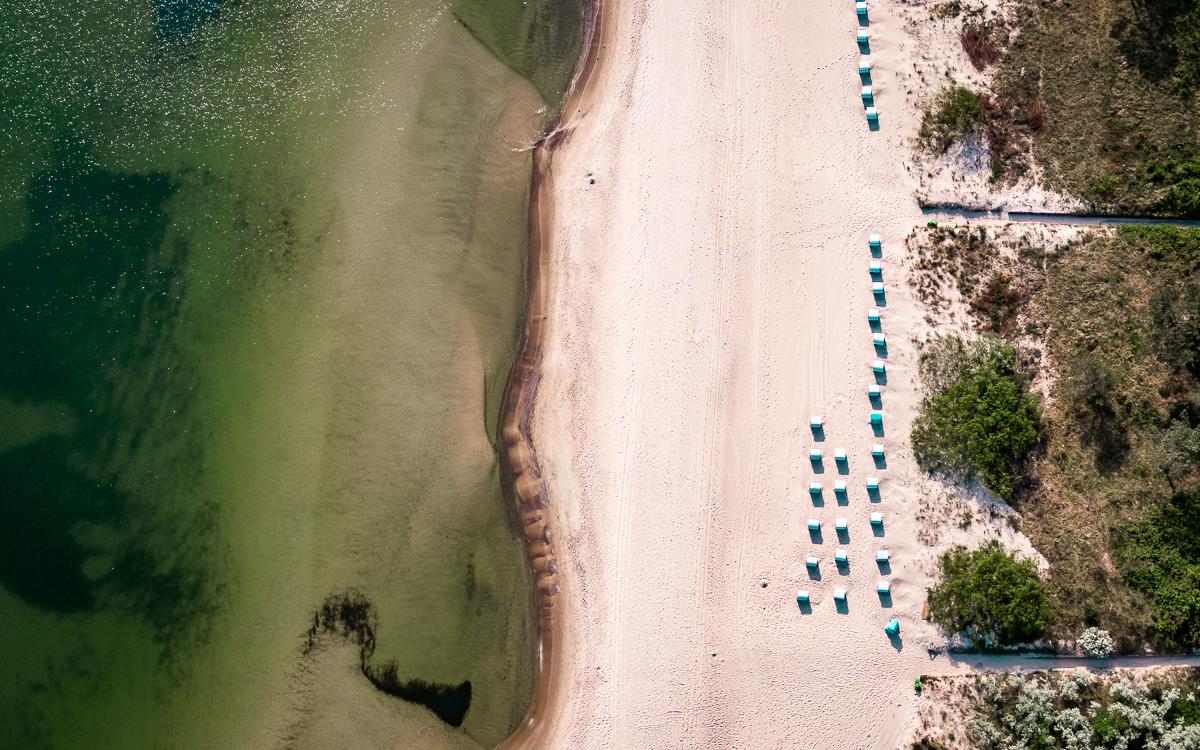 Strand Zinnowitz Usedom Urlaub