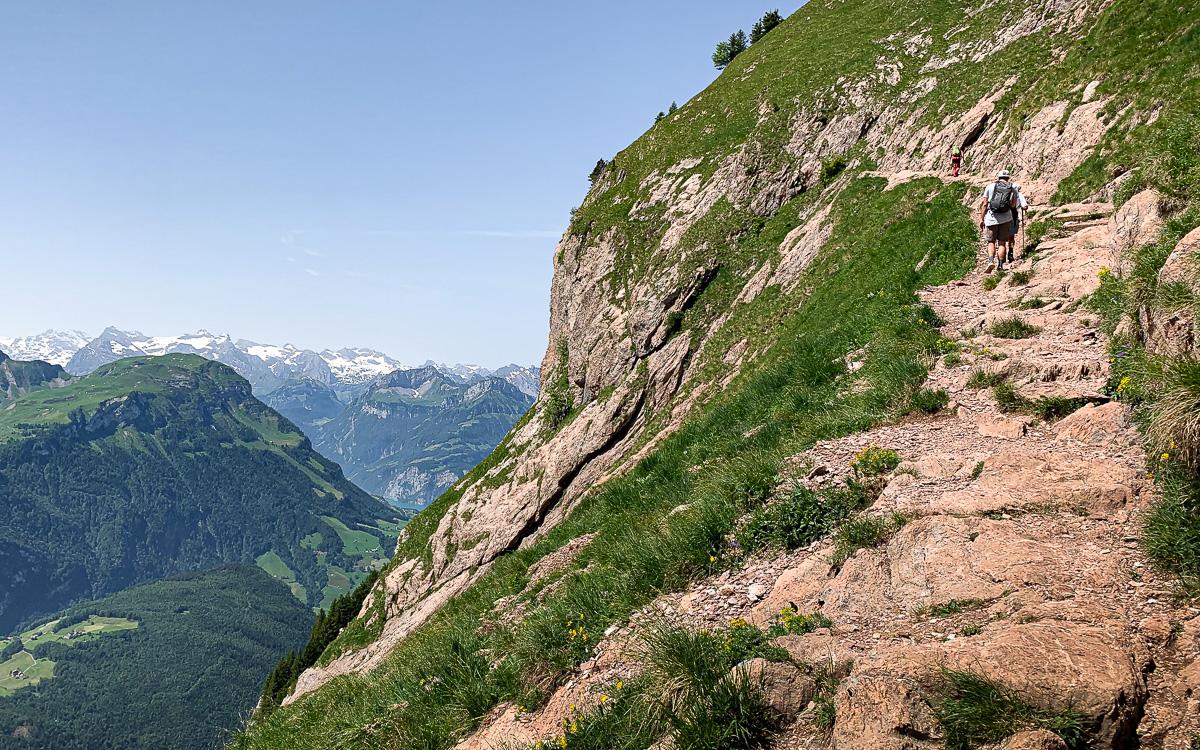 Aufstieg Mythen Schwyz