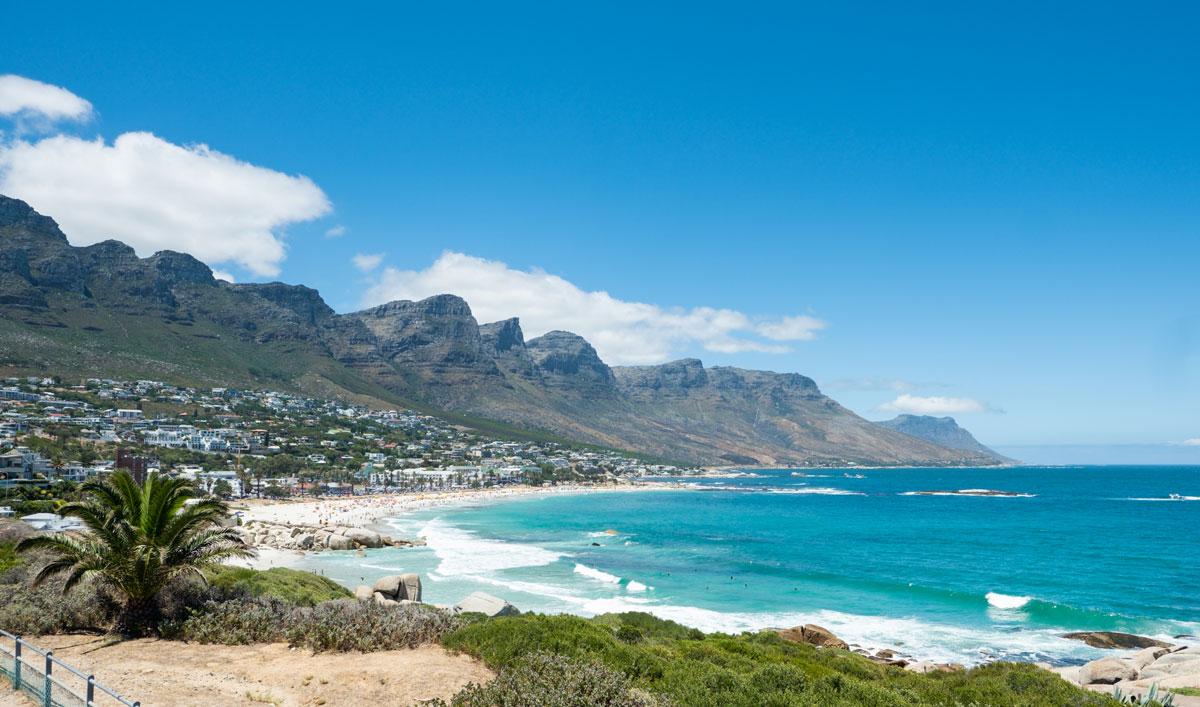Camps Bay und die 12 Apostel in Kapstadt