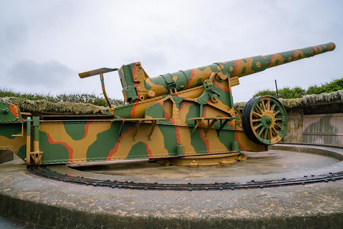 Guernsey-Dollmann-Batterie-Gun-Pit