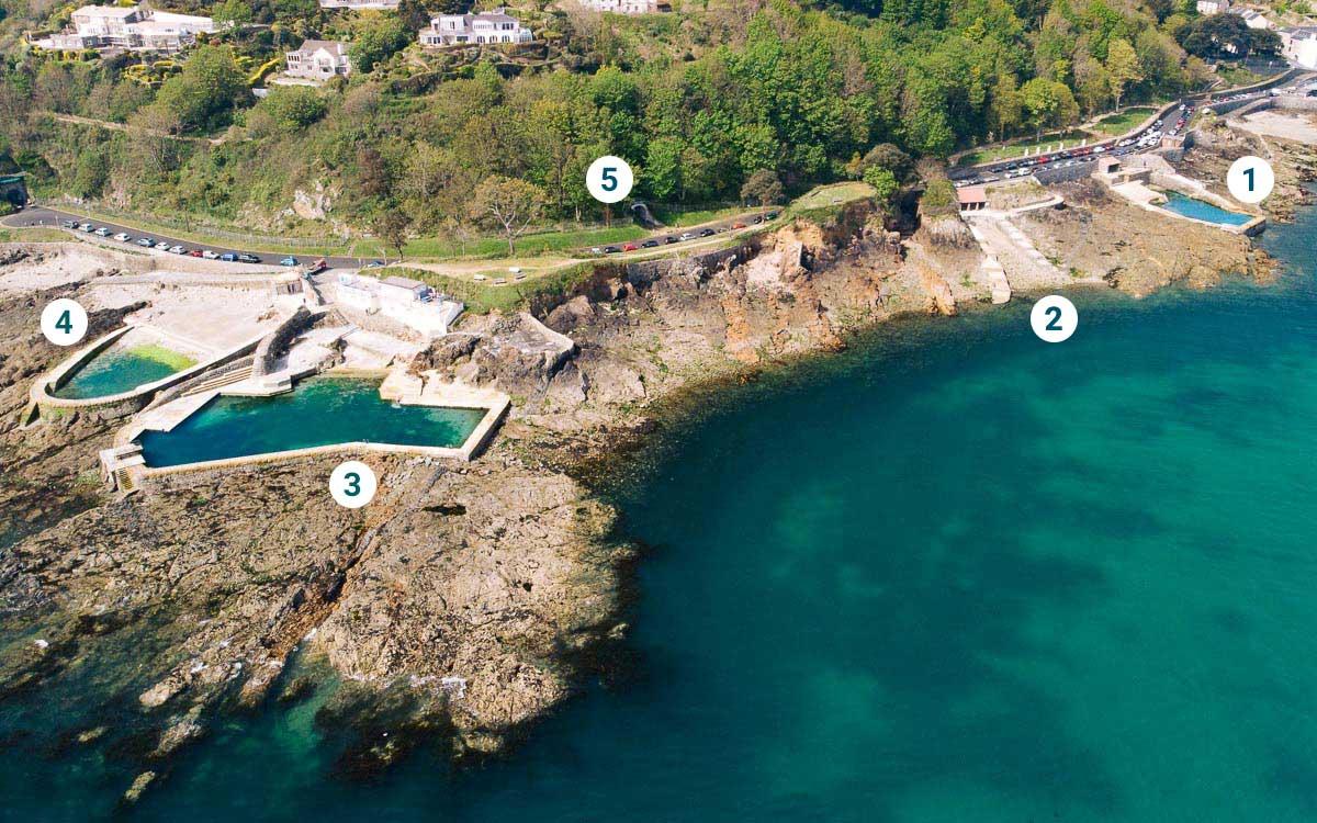 Guernsey-La-Valette-Bathing-Pools-Legende