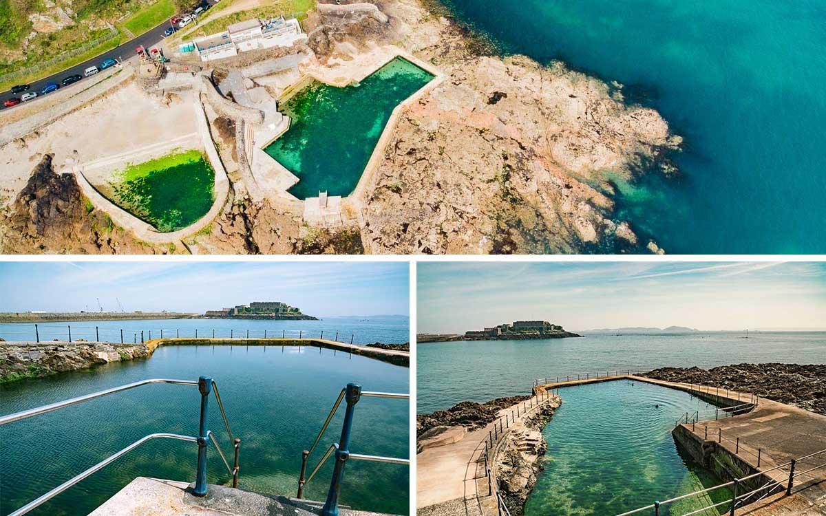 Guernsey-La-Valette-Bathing-Pools-Ansichten