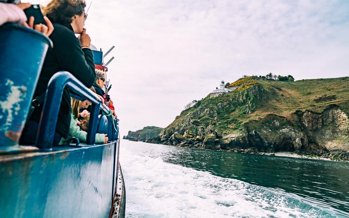 Fähre nach Sark aus Guernsey