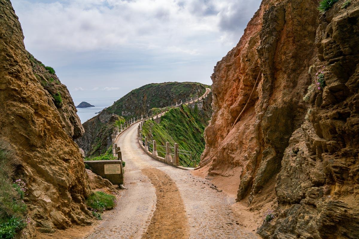 Sark-La-Coupee-Weg
