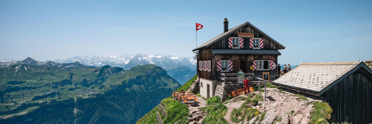 3 Tage Bahnwandern in der Schweiz
