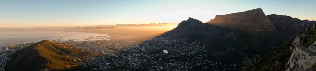 Lionshead Kapstadt Sonnenaufgang