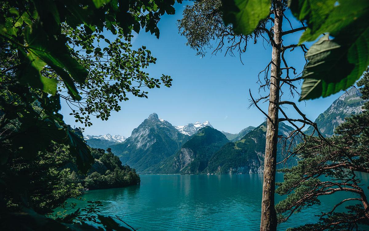 Weg der Schweiz Flüelen