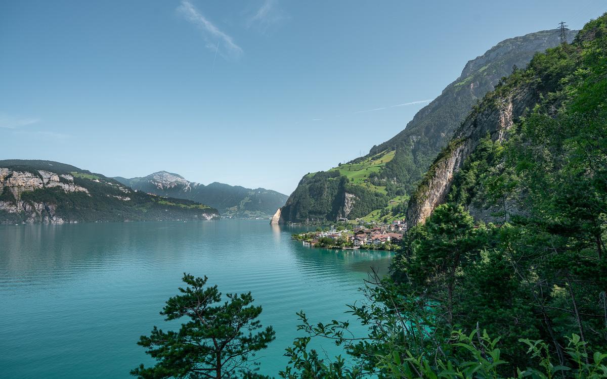 Weg der Schweiz Vierwaldstättersee