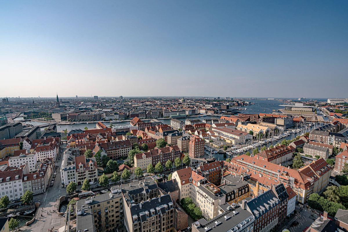 Vor Frelsers Kirke Kopenhagen Aussicht