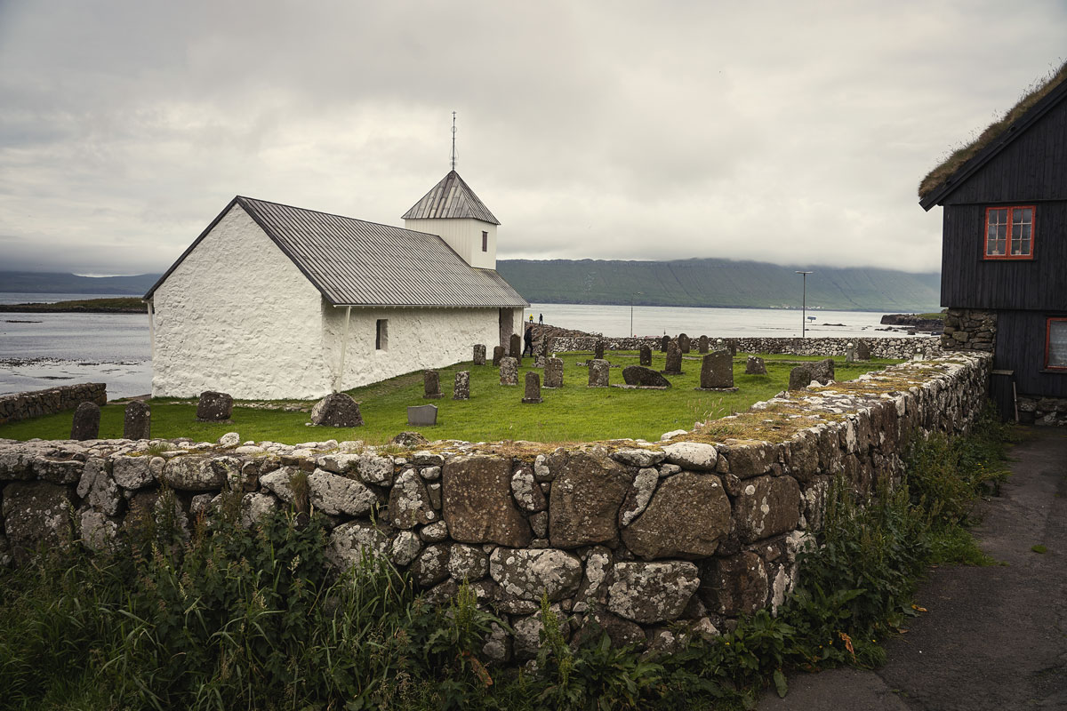 Olvskirche in Kirkjubøur