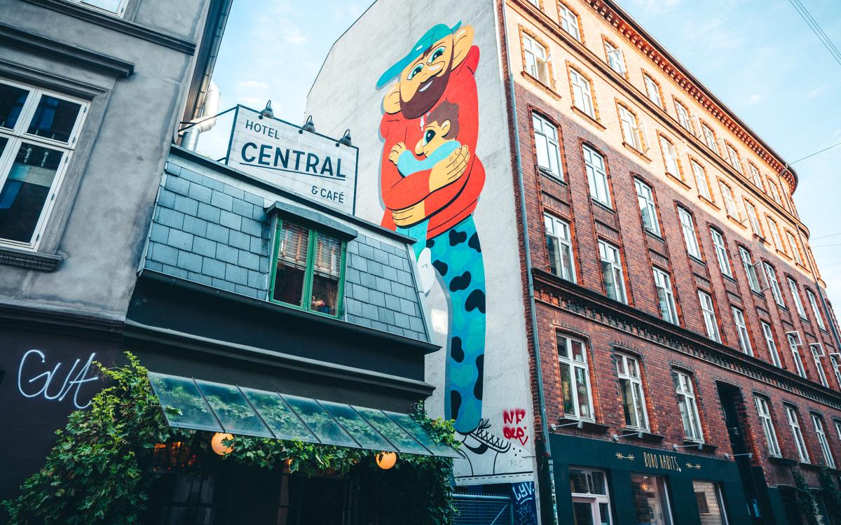 Hotel Central Street Art Copenhagen