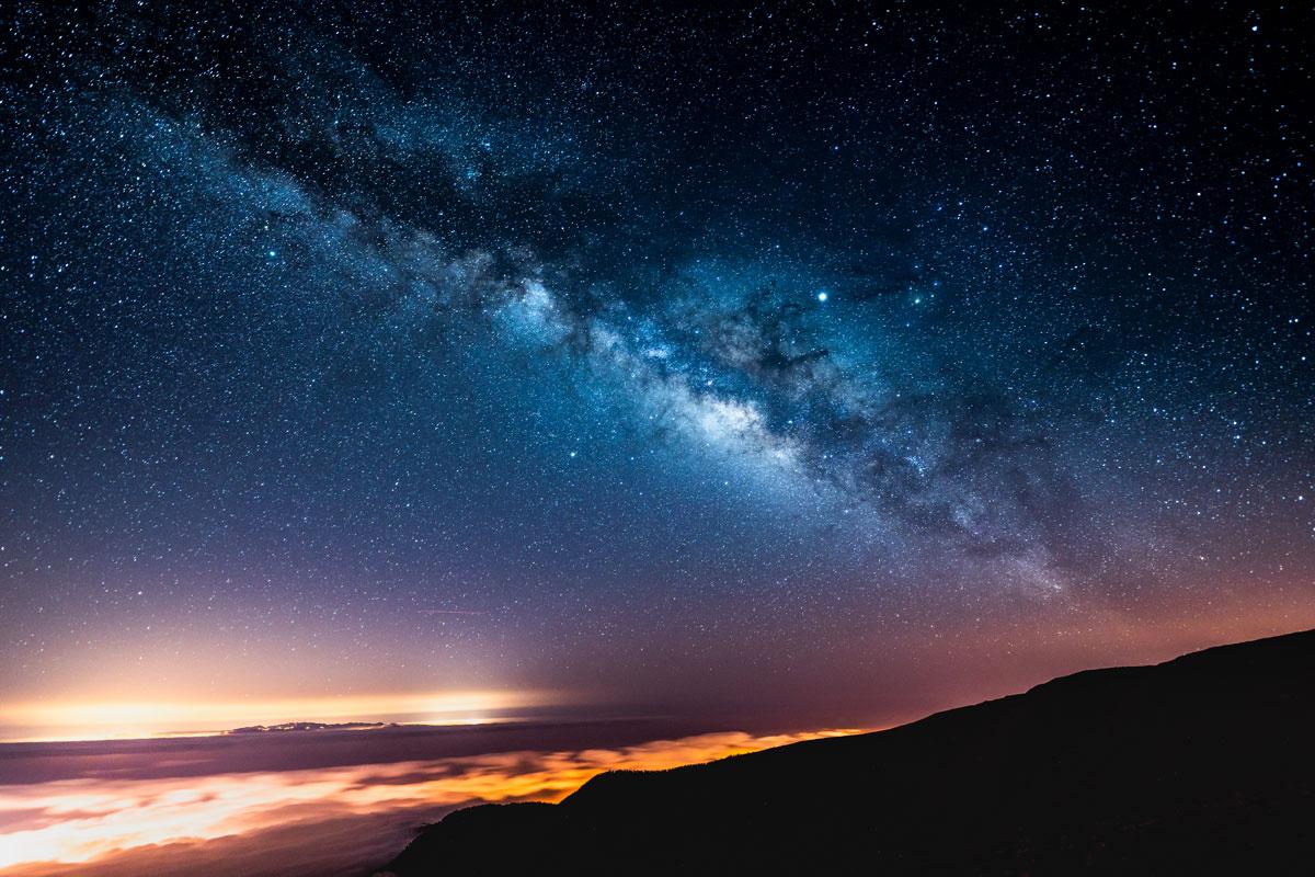 Milchstraße Teneriffa Teide