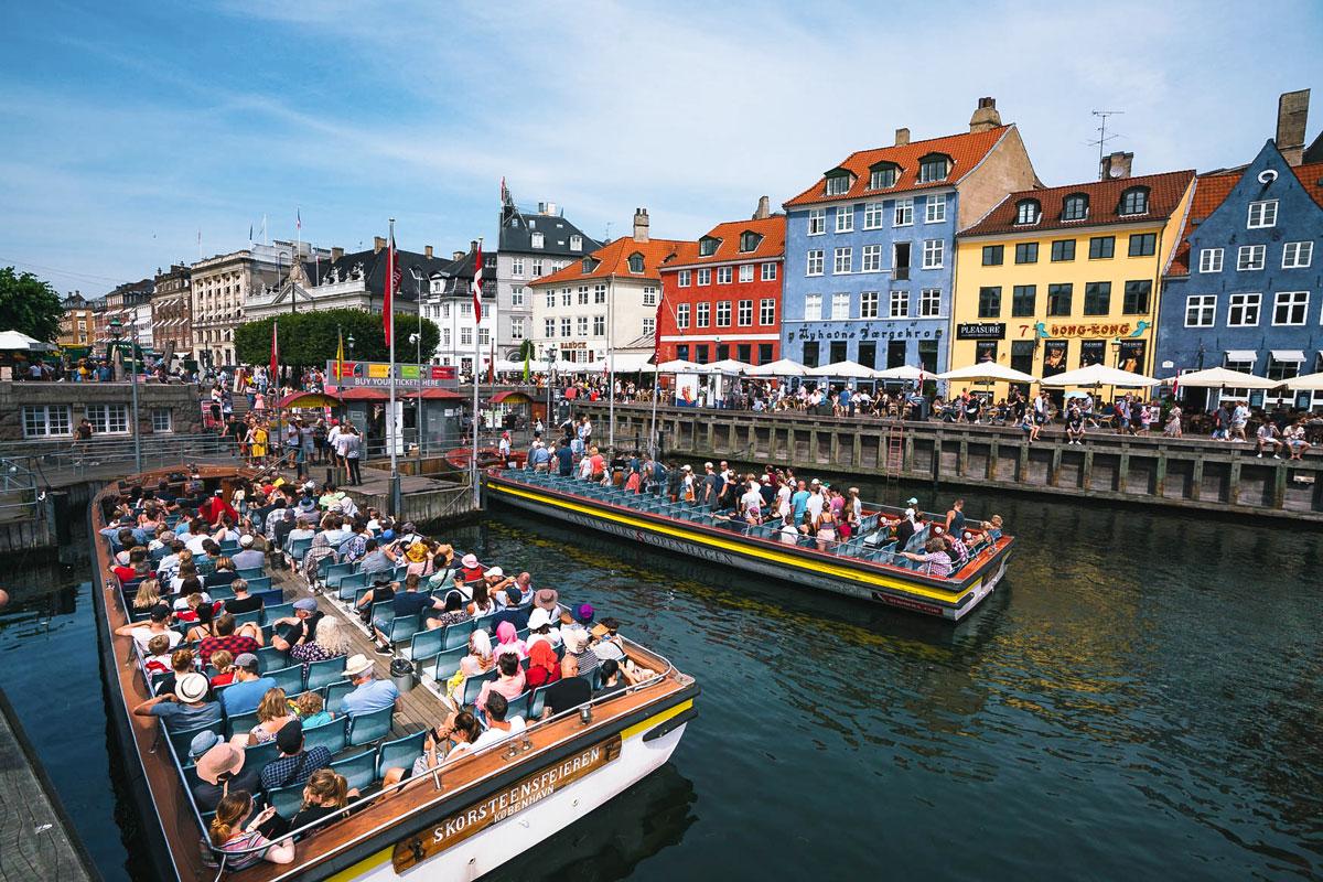 Kanal-Tour Boot Kopenhagen