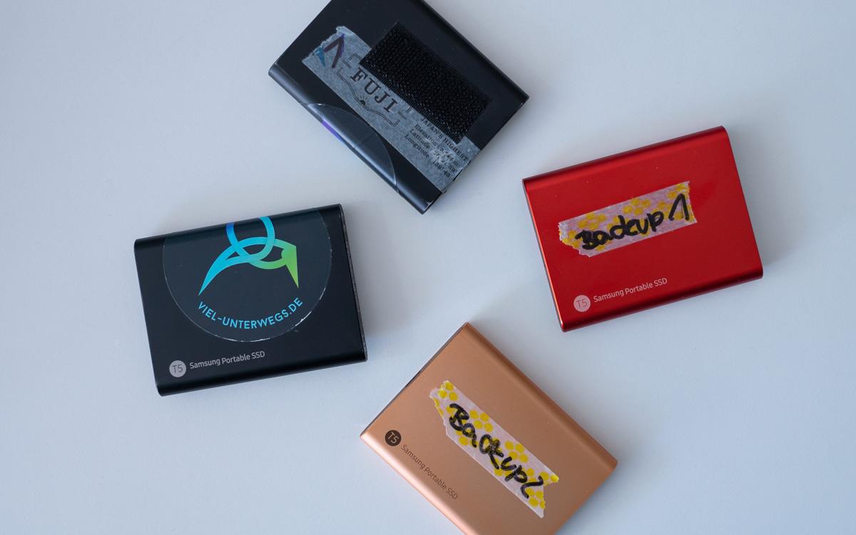 Festplatten Samsung Portable SSD
