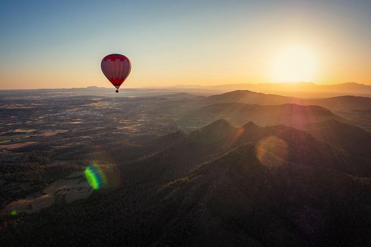 Geheimtipp Mallorca: Ballonfahrt
