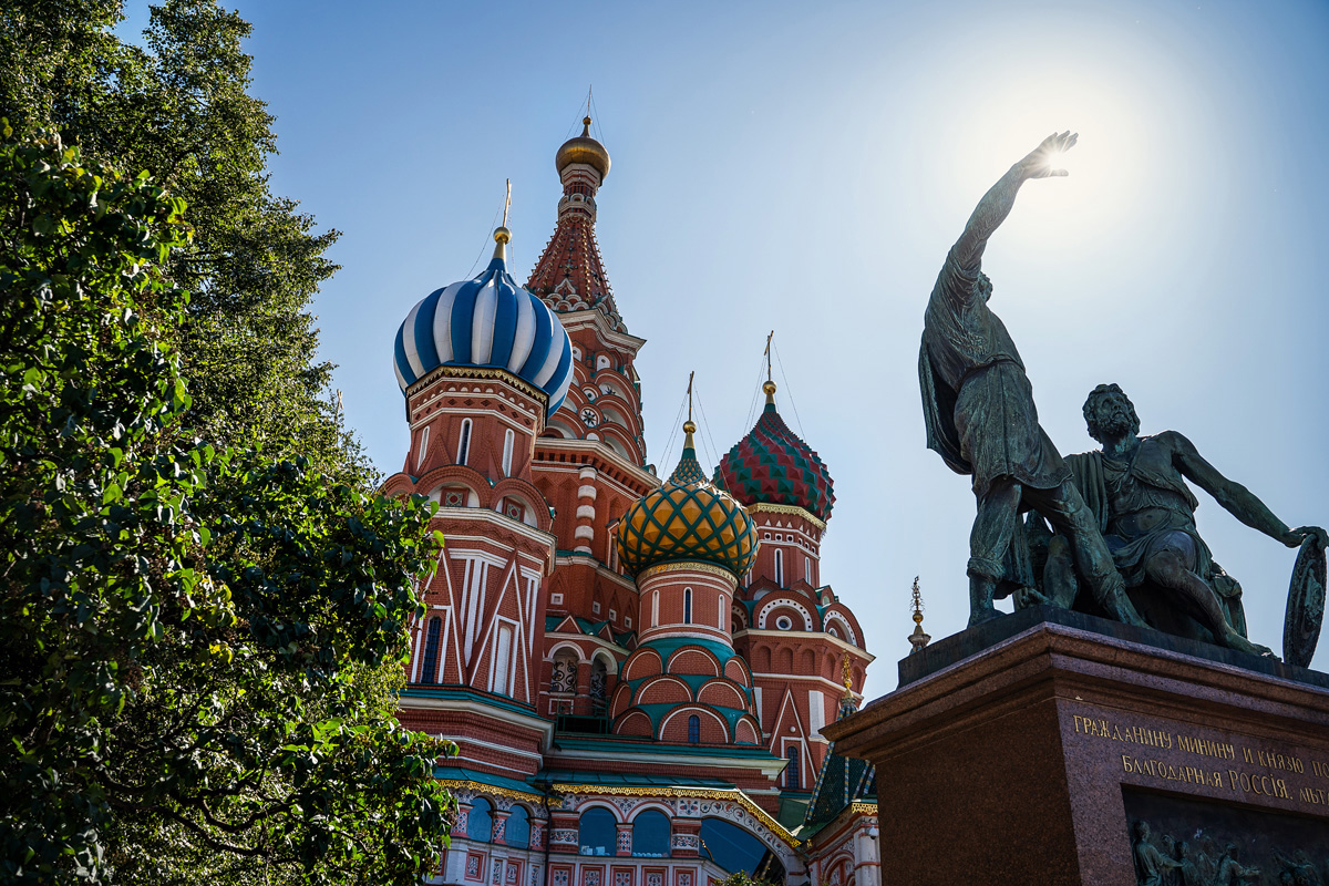 Basilius-Kathedrale, Moskau