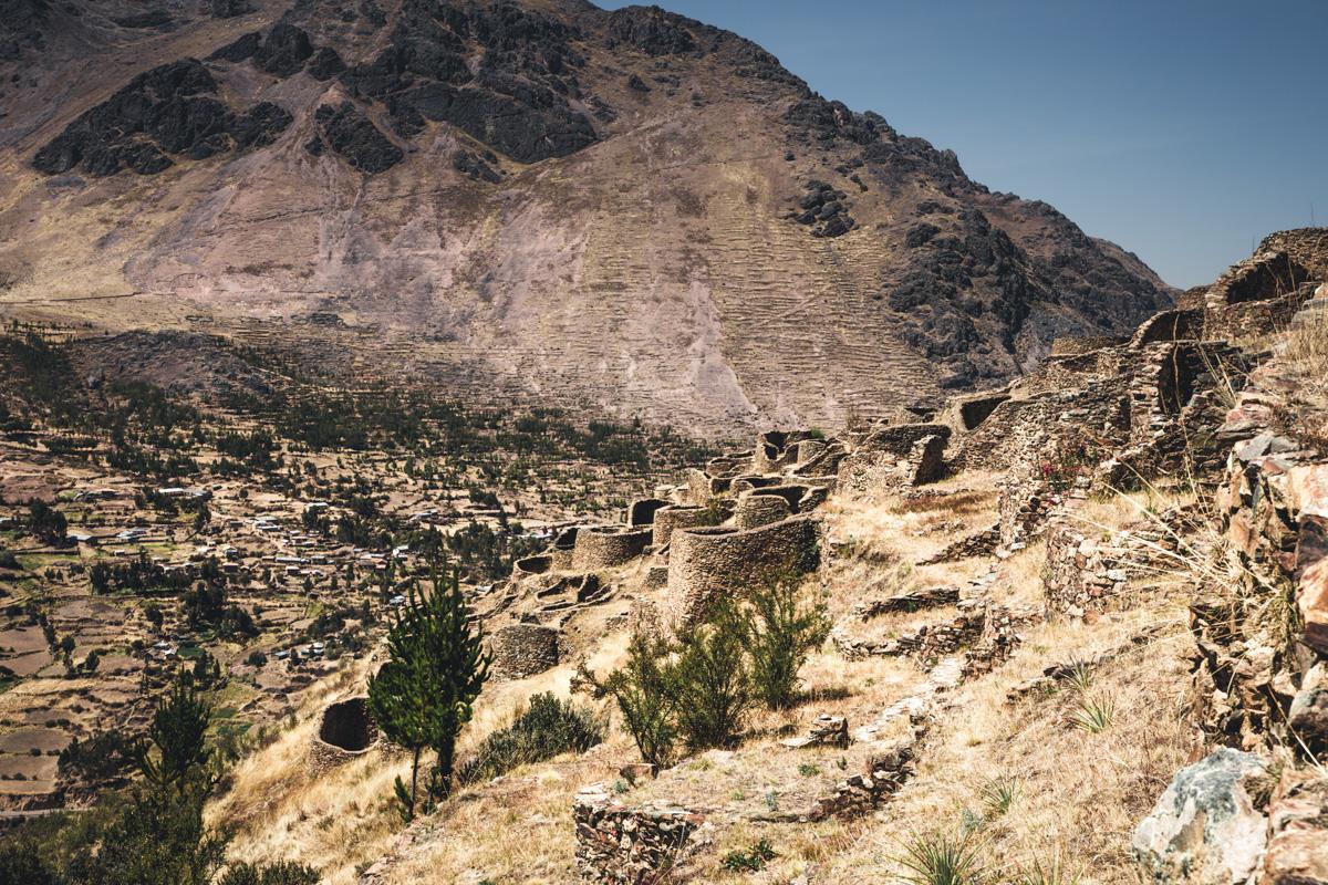 Ruinen Ankasmarca Peru