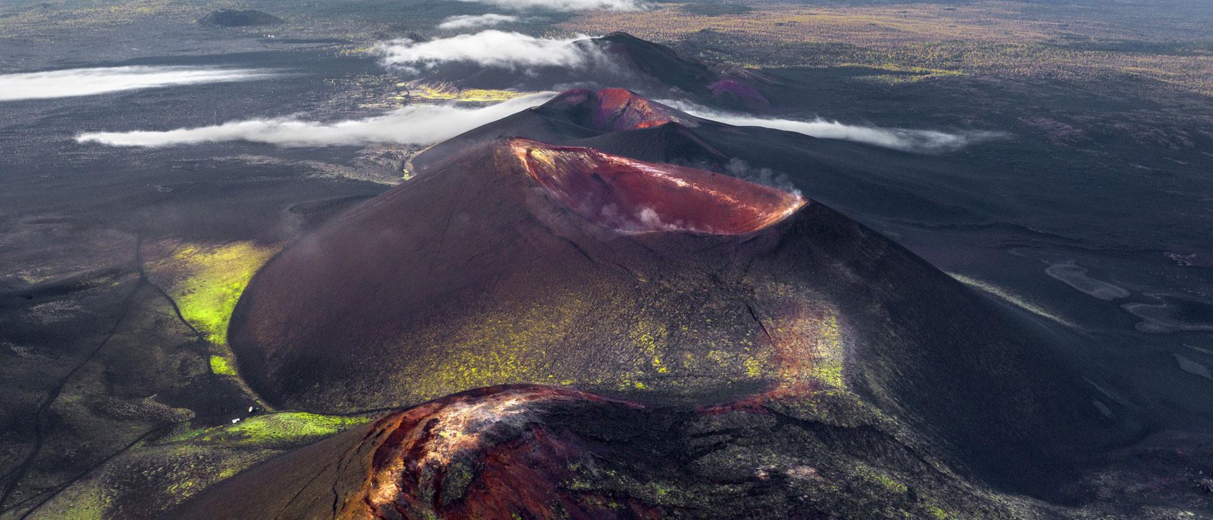 Krater Vulkane Kamtschatka