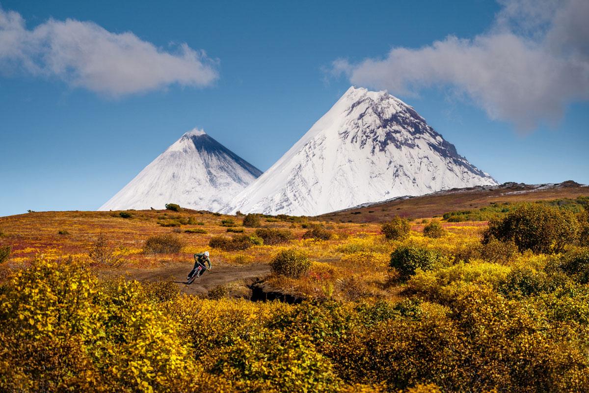 Vulkankegel Kamtschatka