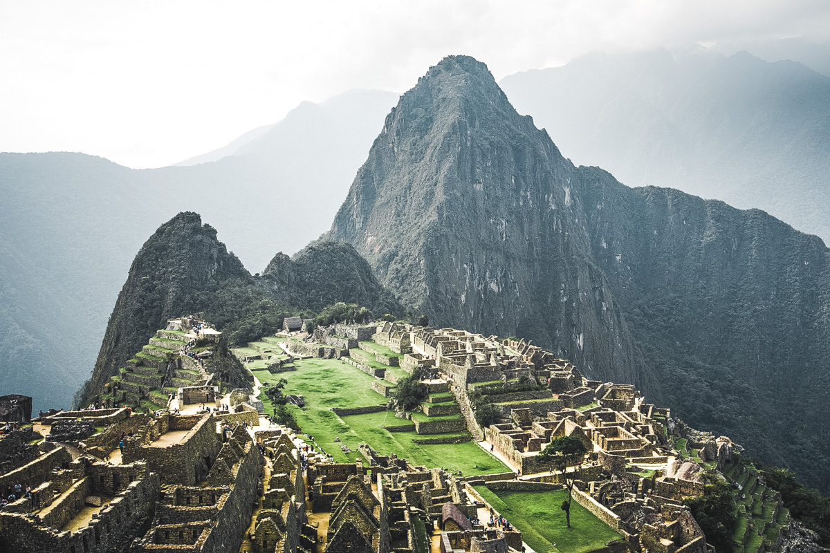 Machu Picchu am Nachmittag