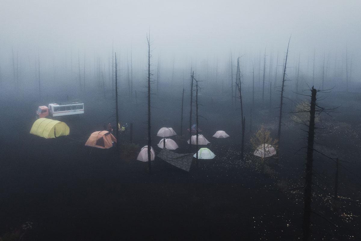 Campingplatz im Toten Wald