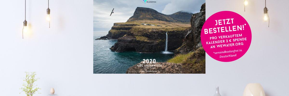 Reise Kalender 2020 mit den schönsten Bildern für Fernweh – jetzt bestellen!
