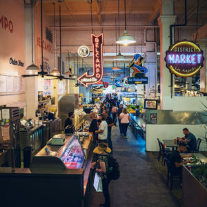 Grand Central Market Downtown Los Angeles