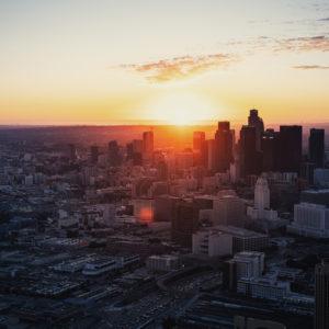 Helikopterflug Los Angeles