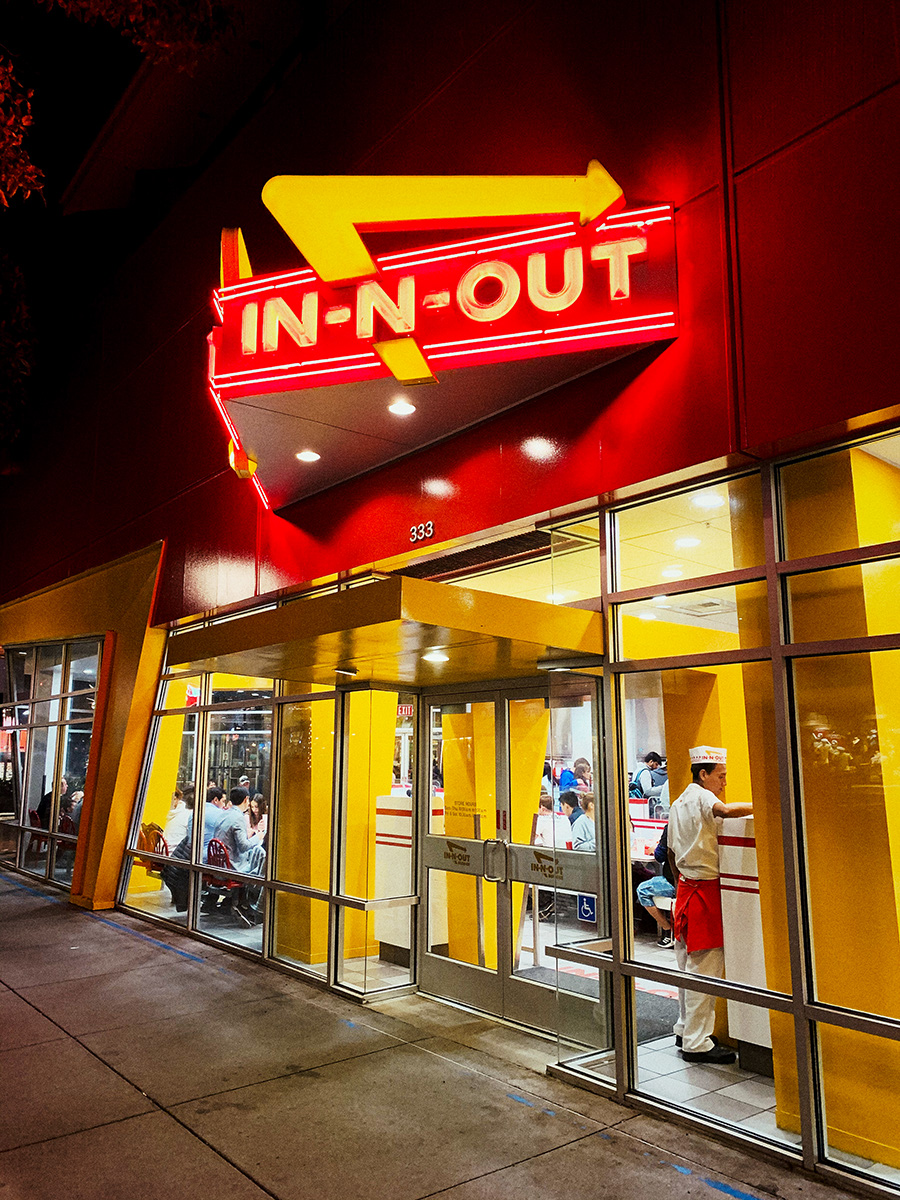 In-N-Out-Burger San Francisco