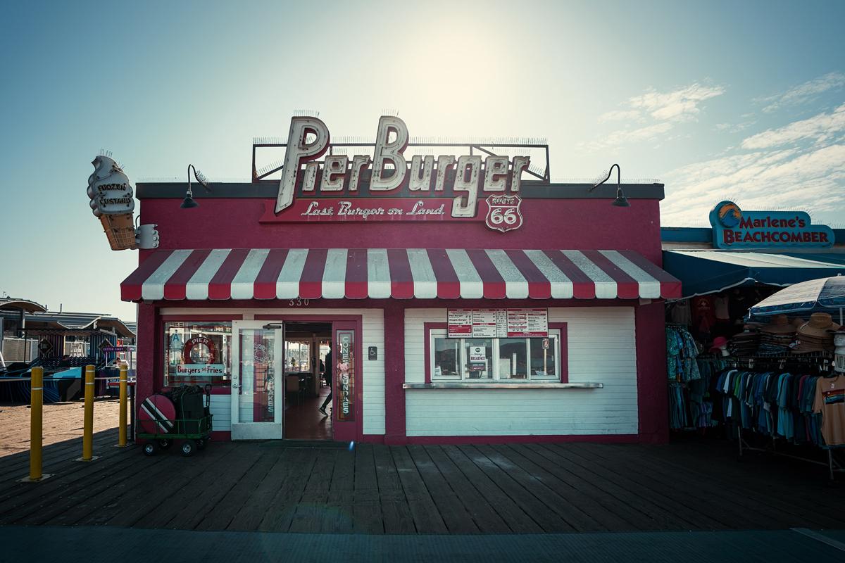 Pierburger Santa Monica Pier