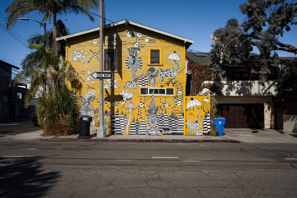 Street Art Venice Beach L.A.
